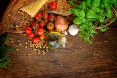 Free Fresh Ingredients Royalty Free Stock Images - 24143779
