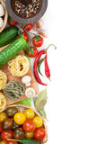 Fresh ingredients for cooking Royalty Free Stock Photo