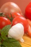 Fresh ingredients for making pasta Stock Photos