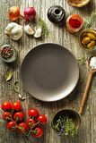 Ingredients and spices for cooking Royalty Free Stock Image