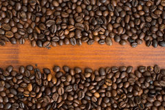 Fresh,invigorating coffee with chocolate. In the early morning Royalty Free Stock Photography
