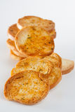 Fresh Italian bruschette Stock Image
