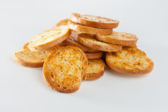 Fresh Italian bruschette Stock Photos