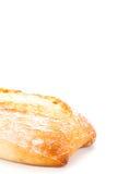 Fresh italian chiabatta bread isolated on white Stock Images
