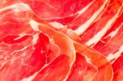 Fresh Italian ham Stock Photos