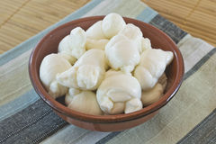 Fresh italian mozzarella Royalty Free Stock Photo