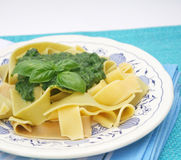 Fresh italian pasta Royalty Free Stock Photos