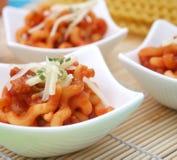 Fresh italian pasta Stock Image