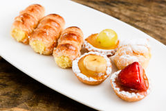 Italian pastries Stock Photography