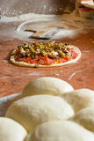 Fresh Italian pizza dough Royalty Free Stock Photography
