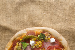 Fresh Italian pizza Stock Image