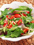 Fresh italian salad Stock Photo