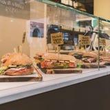 Fresh italian sandwiches Royalty Free Stock Photography
