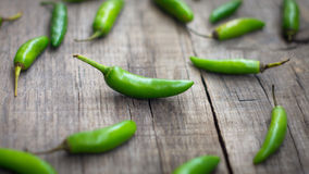 Fresh jalapenos chili pepper Royalty Free Stock Photography