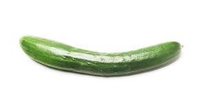 Fresh Japanese Cucumber Stock Photo