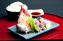 Fresh japanese fish Royalty Free Stock Images