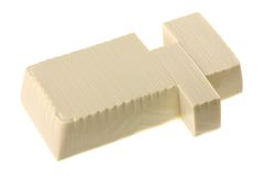 Fresh Japanese Momen (cotton) tofu Stock Image