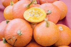Fresh japanese pumpkin Stock Photos