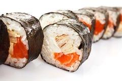 Fresh japanese sushi Royalty Free Stock Image