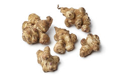 Fresh Jerusalem artichokes Royalty Free Stock Image