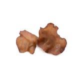 Fresh jews mushrooms isolated on white background Stock Photos