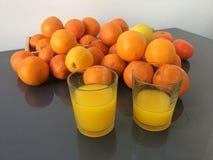 The really fresh juice Royalty Free Stock Photos