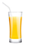 Fresh juice without drops Stock Photo