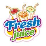 Fresh Juice emblem Royalty Free Stock Photo