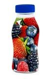 Fresh juice fruits Royalty Free Stock Images
