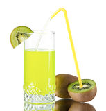 Fresh juice of a kiwi Royalty Free Stock Photography