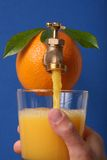 fresh juice orange Στοκ φωτογραφίες με δικαίωμα ελεύθερης χρήσης