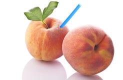 Fresh juice of peach Stock Photo