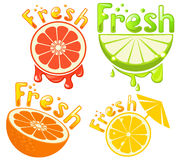 Fresh juice Stock Images