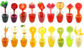 Fresh juices Royalty Free Stock Photo