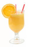 Fresh juices isolated Stock Images