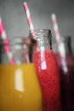 Fresh juices Stock Photos