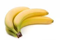 Fresh juicy banana isolated on white Stock Image