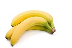 Fresh juicy banana isolated on white Stock Images