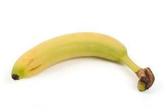 Fresh juicy banana  on white Stock Photos