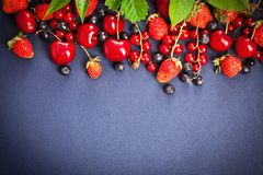 Fresh juicy berries Royalty Free Stock Images