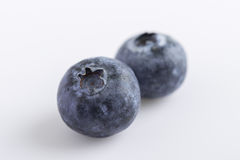 Fresh juicy blueberries Stock Photography