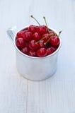 Fresh juicy cherry Stock Photo