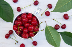 Fresh juicy cherry Royalty Free Stock Images