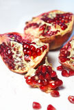 Fresh juicy cuted pomegranate Stock Images