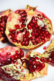 Fresh juicy cuted pomegranate Royalty Free Stock Photo