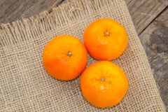 Fresh clementines on Royalty Free Stock Photo