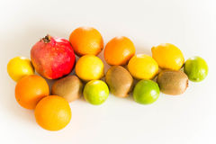 Fresh juicy fruits Royalty Free Stock Images