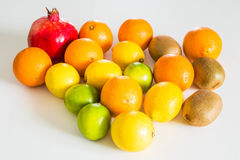 Fresh juicy fruits Stock Photography
