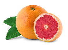 Fresh juicy grapefruits Royalty Free Stock Images