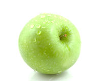 Fresh juicy green apple Royalty Free Stock Image